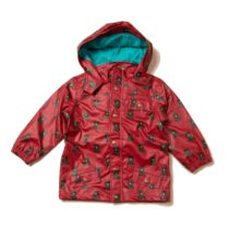 Little Green Radicals Waterproof Recycled Raincoat Mountain Bears