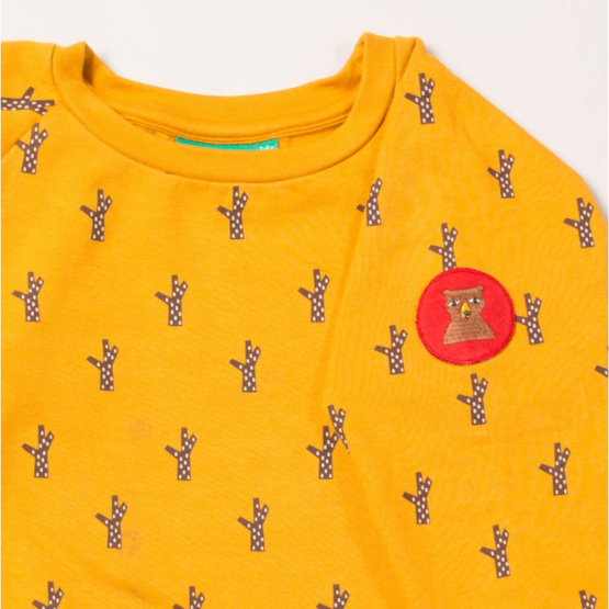 Little Green Radicals sweater Golden Forest 2