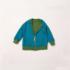 Little Green Radicals Woodland Reversible Jacket back