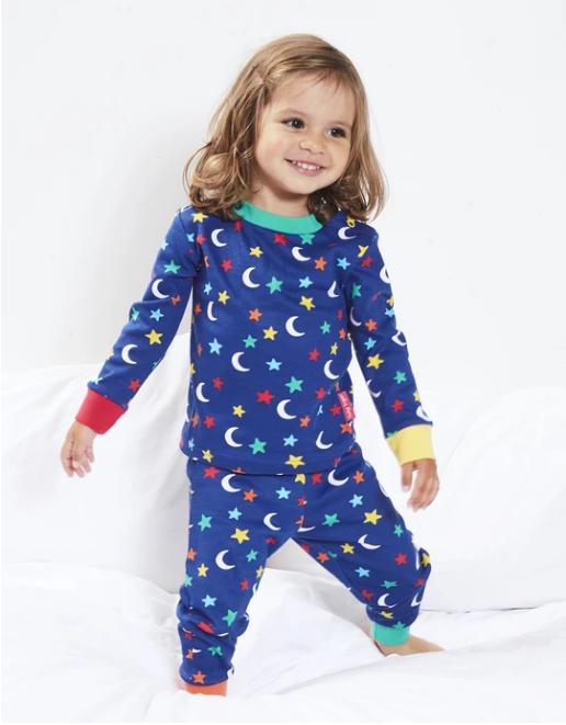 Toby Tiger pyjama Star print (glow in the dark)