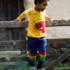 Frugi joggingbroek Kneepatch Indigo/Stripe 2