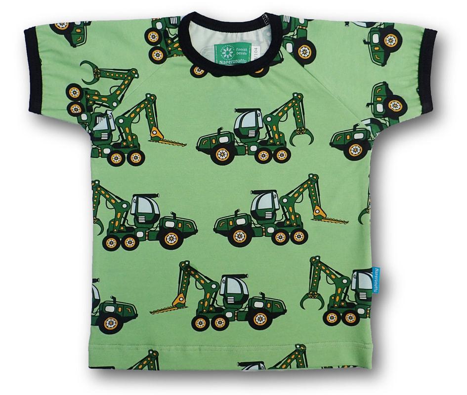 Naperonuttu t-shirt Forest machine