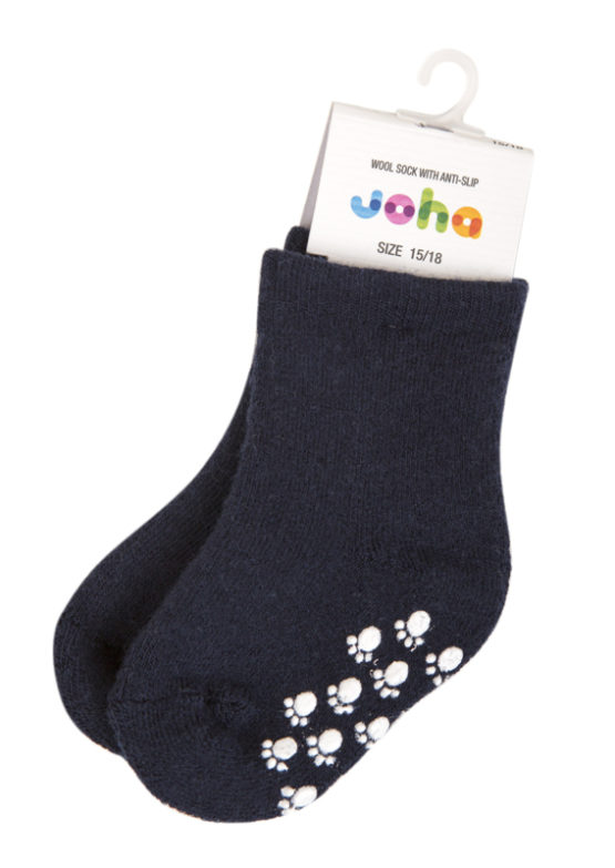 Joha anti-slip sokken donkerblauw
