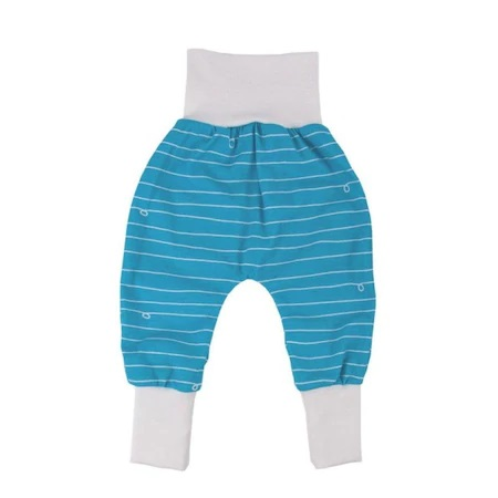 PoPoLiNi yoga pants blue-white