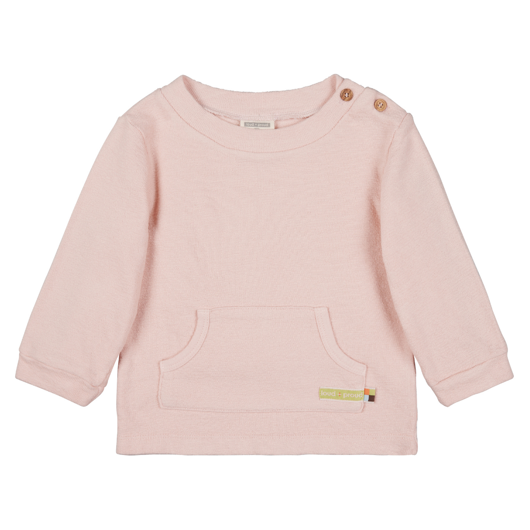 Loud + Proud sweatshirt Rosé