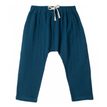 Organic by Feldman baggy pants Petrol