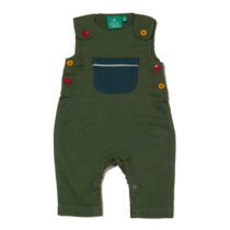 Little Green Radicals dungaree Olive Day After Day