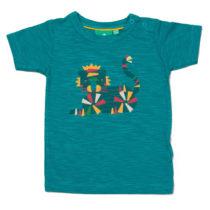 Little Green Radicals t-shirt Rainbow Tiger