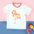 Blade & Rose t-shirt Flamingo