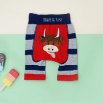 Blade & Rose legging short Highland Cow