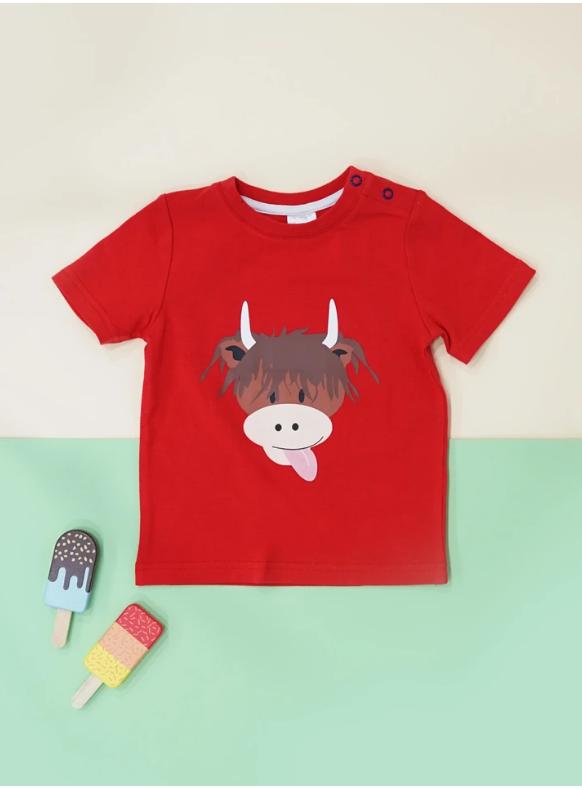 Blade & Rose t-shirt Highland Cow