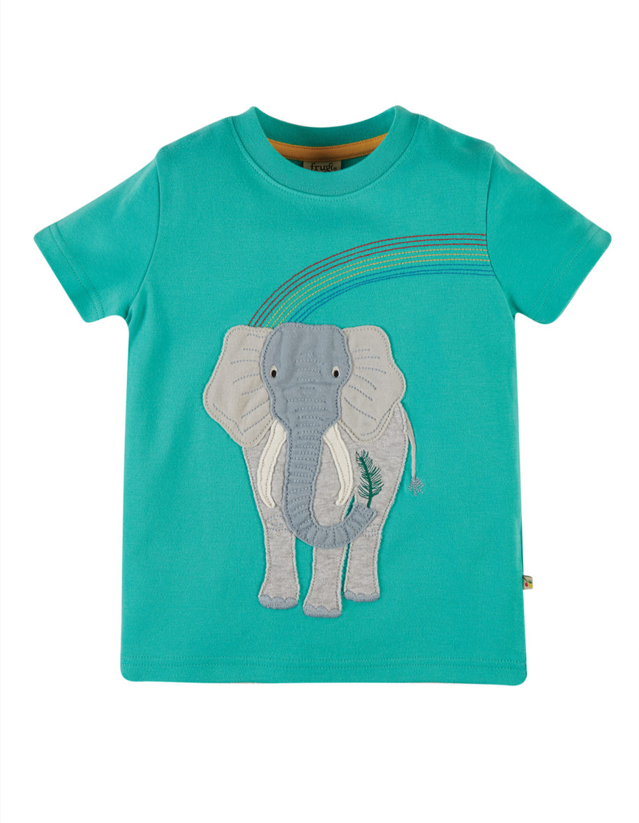 Frugi t-shirt Elephant