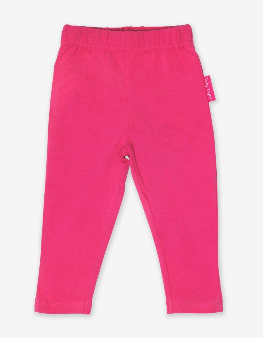 Toby Tiger basic legging Pink