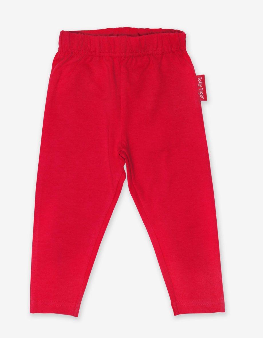 Toby Tiger basic legging Red