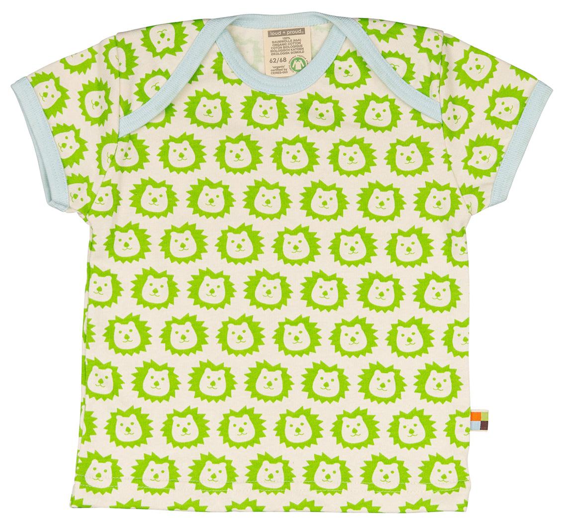 Loud + Proud t-shirt Leeuw