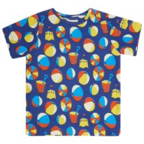 Piccalilly t-shirt Beach Days all-over print