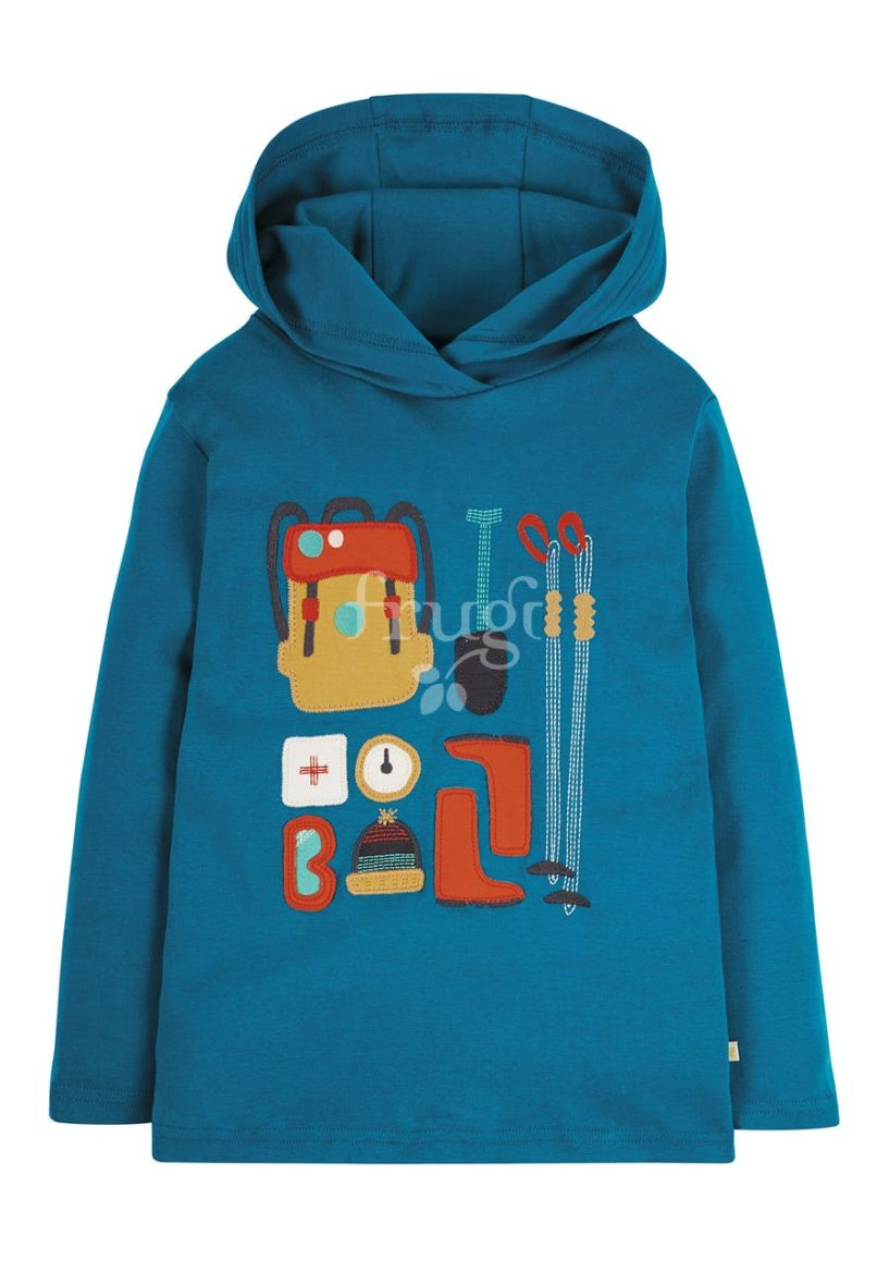 Frugi Campfire Hooded Top Hiking