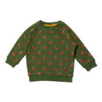 Little Green Radicals sweater Red Apples