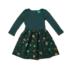 Little Green Radicals twirlerdress Midnight Kite