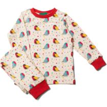 Little Green Radicals pyjama Rainbow Robins