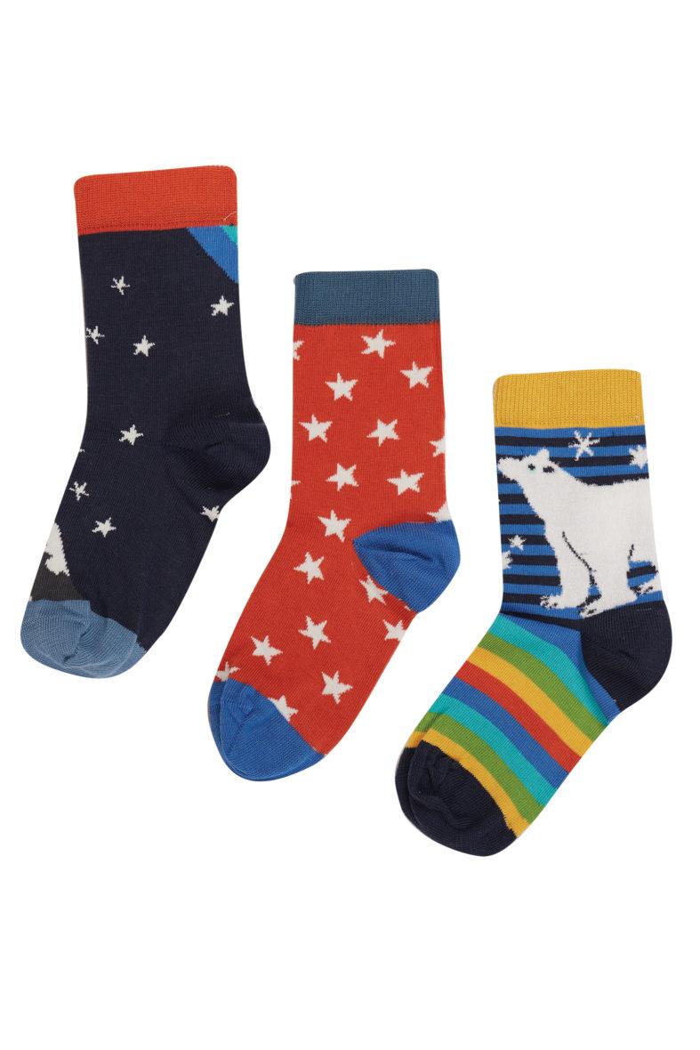 Frugi Rock my Socks 3pk