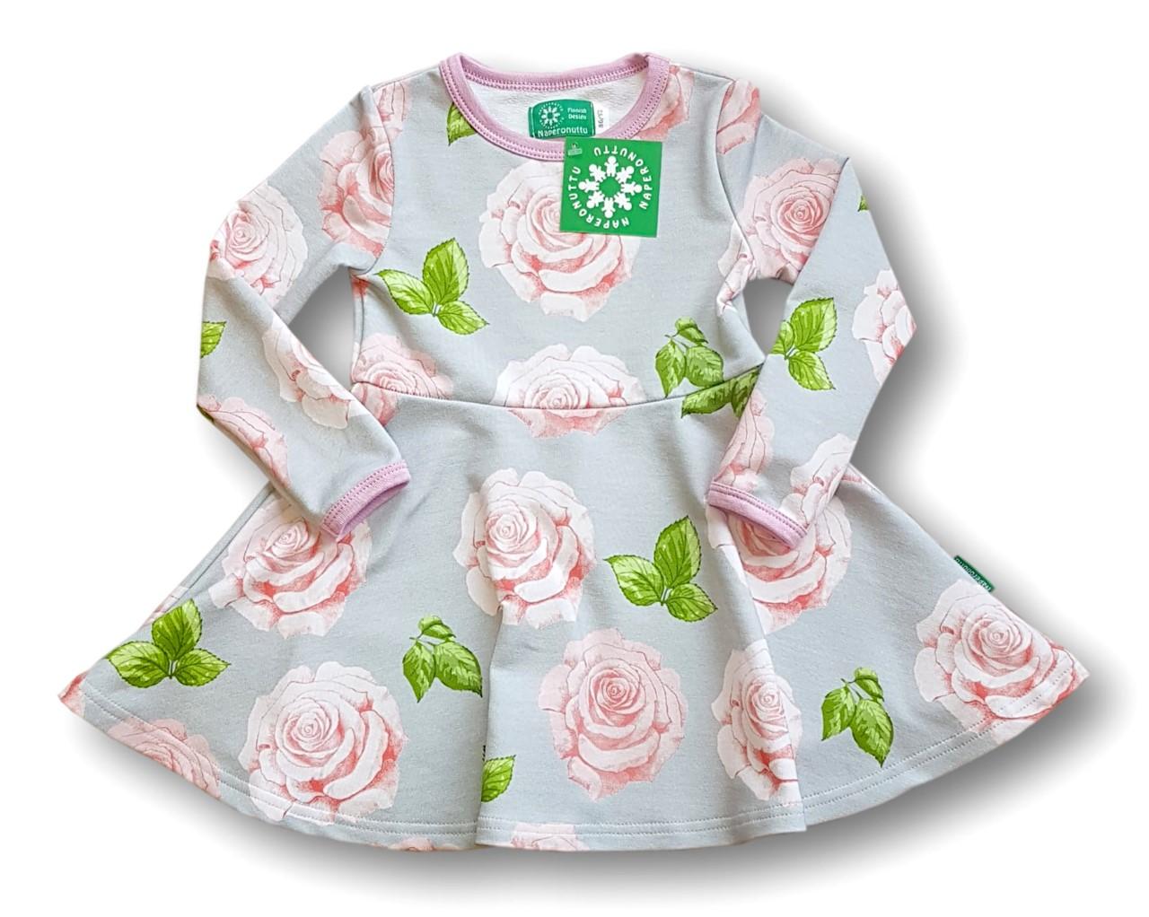 Naperonuttu Bell dress Rose