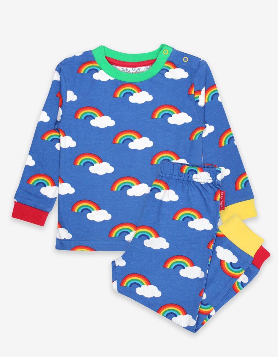 Toby Tiger pyjama Regenboogjes